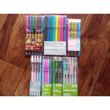 Długopisy ołówki mechaniczne cienkopisy