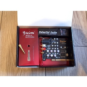 Karta muzyczna AIM SC8000 - dobra do słuchawek