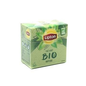 lipton the vert bio nature herbata 20szt. zielona