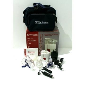 Przenośny inhalator ultradźwiękowy VitalSystem