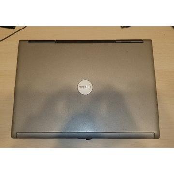 Dell Latitude D830 + zasilacz + mysz+ nowa bateria