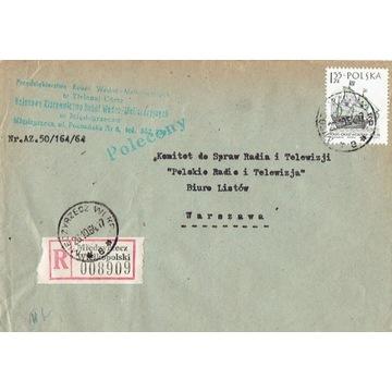 Międzyrzecz Wlkp. - Koperty listów polec. 1960-80