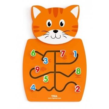 Tablica Sensoryczna Manipulacyjna Montessori