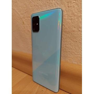 Samsung A71 niebieski 128GB 6GB RAM