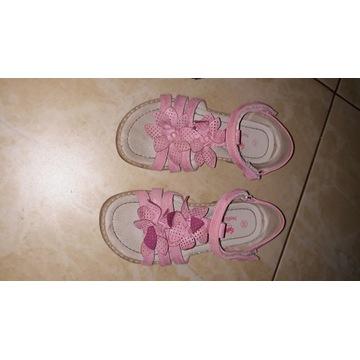 Sandały dla dziewczynki rozmiar 29 plus gratis