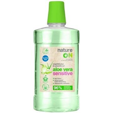 Nature On aloe vera sensitive płyn -50%