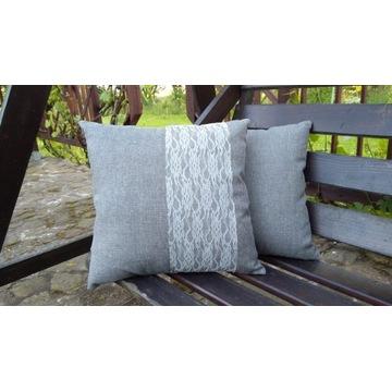 Poduszka dekoracyjna koronka NOWA produkt Pl