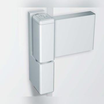 Zawias do drzwi KT-K 14-19 RAL 9016 PVC
