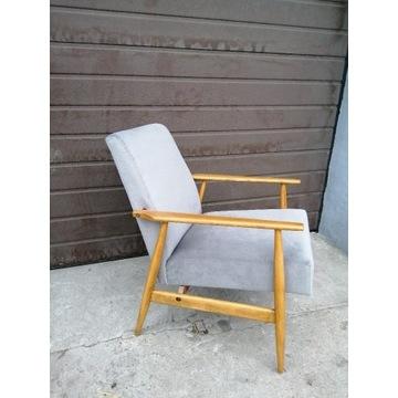Fotel lisek z PRL lata 70