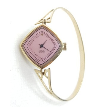 Zegarek damski Slava bransoleta pozlacany