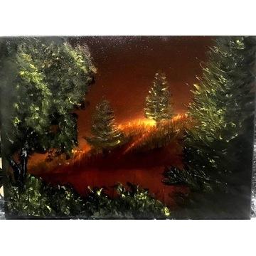 Pejzaż 40x50 olej obraz