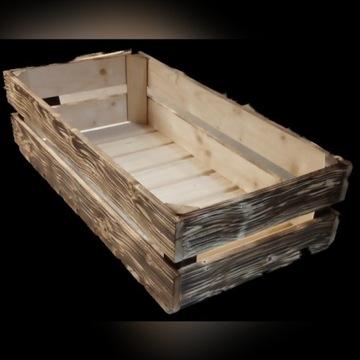 Skrzynka drewniana 80x40x21