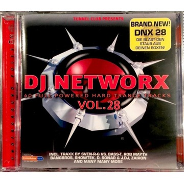 DJ Networx Vol.28 (2CD) Nowa w folii