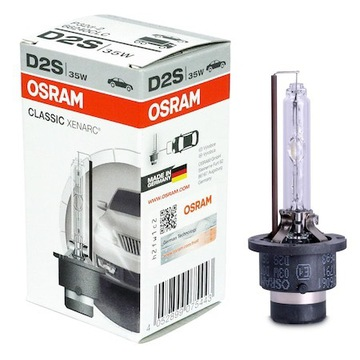 Xenon DS2 Osram classic 35W - NOWY KOMPLET
