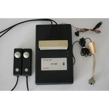 Konsola z 1977 Unitra Unimor Tele-Set GTV 881