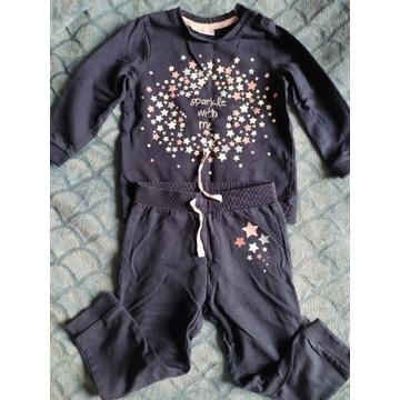 Bawełniany dres, rozmiar 98