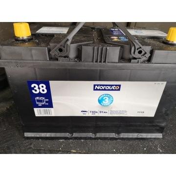 Akumulator Norauto 38 740A 97Ah 12V