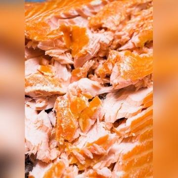 Kawałki łososia wędzone na gorąco w kilku smakach!