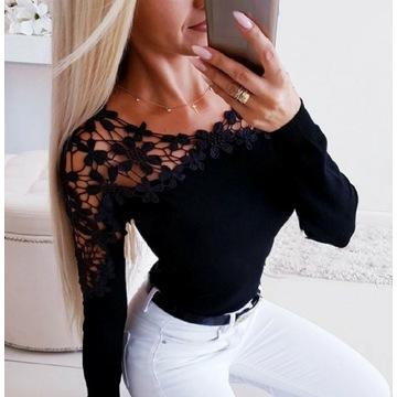 Czarna bluzka M/L 38