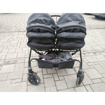 Wózek bliźniaczy 3w1 Tako Corona Duo na gwarancji