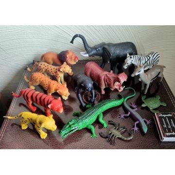 Figurki zwierzątek 14 szt. ZOO