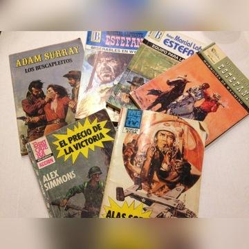 Biblioteczka Hiszpańska Bolsilibros 6 książeczek
