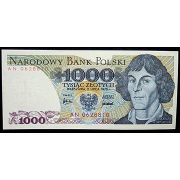 1000 zł - 1975 - AN - st.1 UNC