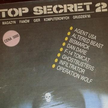 Czasopisma TOP SECRET 2 i 3 ATARI Commodore inne!