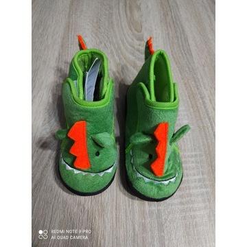 Dziecięce kapcie krokodyle rozmiar 26 nowe