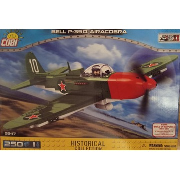 COBI 5547 MAŁA ARMIA BELL P-39Q AIRACOBRA NOWY