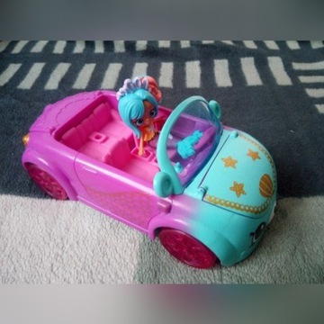 Shopkins auto z syrenką.