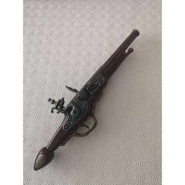 Piękna Replika Pistoletu Skałkowego z 1760
