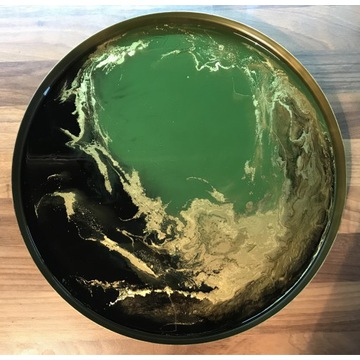 Taca dekoracyjna Green 30 cm
