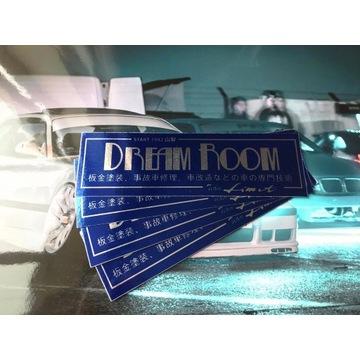 Wlepa drift *Dream Room* najlepsza jakość!