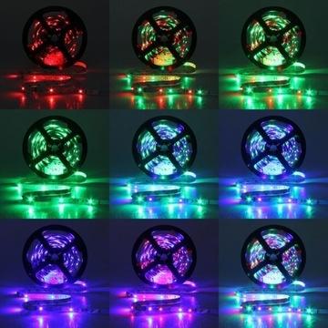Taśma oświetleniowa 300 LED 2825 RGB 5 metrów