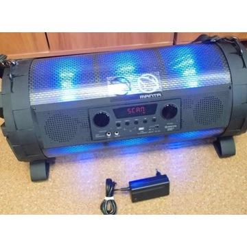 Głośnik przenośny Bluetooth MANTA Bronx SPK 95019