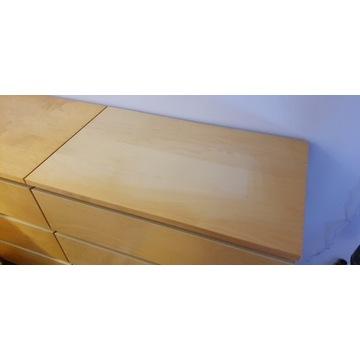 Komoda Ikea MALM 3 szuflady kolor jasna brzoza