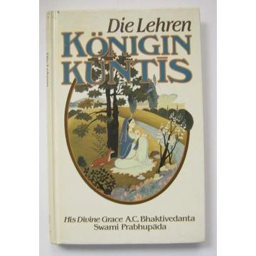 Nauki Królowej Kunti - po niemiecku, twarda okład