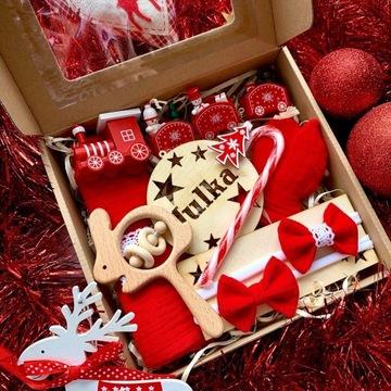 Prezent Święta dziecko zestaw personalizacja