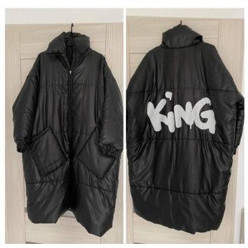 Kurtka puchowa oversize king