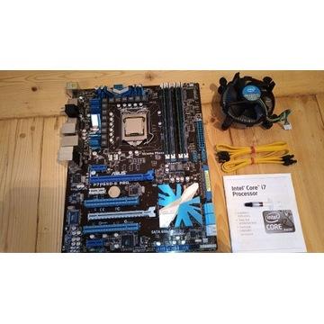 Zestaw Asus P7P55D-E pro + i7-860 + 8Gb RAM