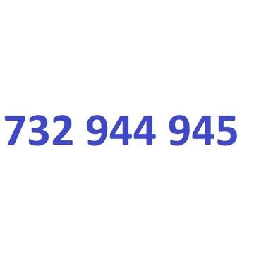 732 944 945 starter play ładny złoty numer