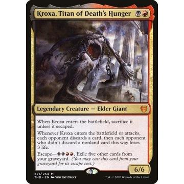 Kroxa, Titan of Death's Hunger non-foil