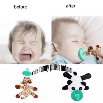 Smoczek  wzór noworodka