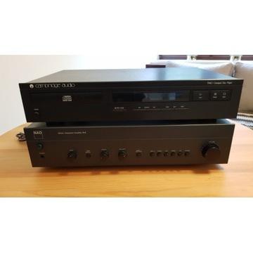 Wzmacniacz NAD 312 + CD Cambridge Audio Trac 1