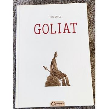 Goliat [Tom Gauld], komiks PL, znakomity stan