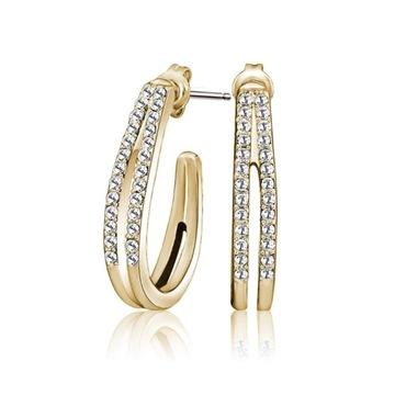 Kolczyki Mestige Golden Ella Swarovski Crystals