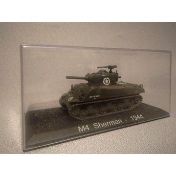 kolekcjonerski MODEL CZOŁGU M4 Sherman 1944