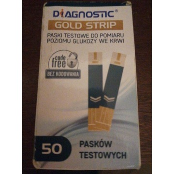 Paski testowe Diagnostic Gold Strip