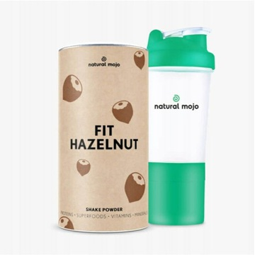 NATURAL MOJO FIT SHAKE-Zestaw Fit Hazelnut+ shaker